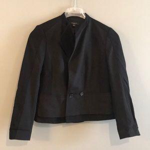Ann Taylor black petite blazer jacket
